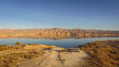 "Inexpensive lakeside camping east of Las Vegas.  ""Beautiful spot on Lake Mead. The road wasn't that bad getting in. The views of the lake are pretty incredible. Our spot was hard packed and not dusty. Nicely isolated but still close enough to Valley of Fire and the Hoover Dam."" - Away We Winnebago"