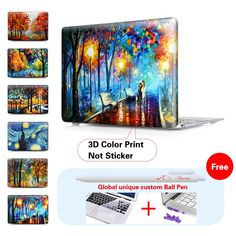 Mac Book Pro Accessories Surprise Colorful Party Balloons Plastic Hard Shell Compatible Mac Air 11 Pro 13 15 MacBook Accessories Case Protection for MacBook 2016-2019 Version