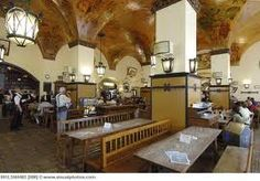 Hofbrauhaus, Munich, Germany. One of Munich's oldest beer halls with Oompah band!