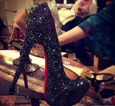 Glittery Red Bottoms.....