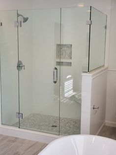 Take A Look At This Amazing Frameless Door Hinged From A Support