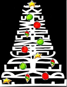 christmastree with your name