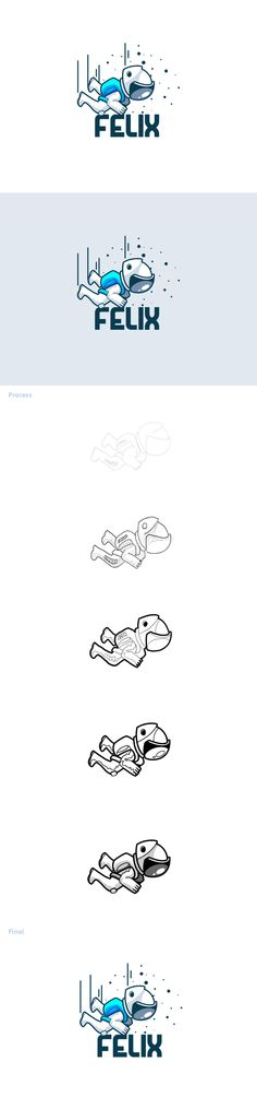 Felix - Jump From Space - Logo Inspiration Design Logo, Graphic Design Print, Web Design, Identity Design, Icon Design, Brand Identity, Logo Inspiration, Typography Logo, Logo Branding