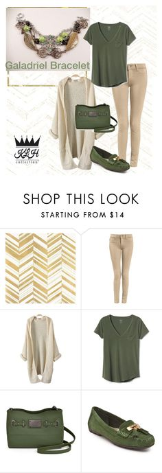 """""""Olive & Tan Fall"""" by klhcollection on Polyvore featuring Home Decorators Collection, Gap, Nicole By Nicole Miller and Anne Klein"""