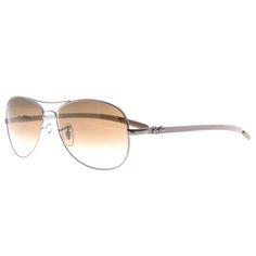 c1d1773da0 Ray Ban Tech 8301 Aviator Sunglasses In Brown