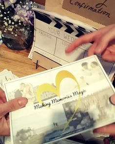 Have you thought about wedding videography? Come grab our leaflet, they're going…