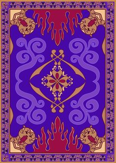 Aladdin Purple Magic Carpet Framed Art Print by Eyesasdaggers - Vector Black - Aladdin Musical, Disney Aladdin, Genie Aladdin, Aladdin Birthday Party, Aladdin Party, Aladdin Costume, Aladdin Game, Aladdin Halloween, Aladdin Movie