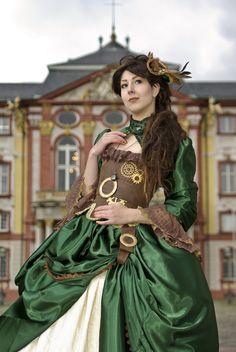 Steampunk Lady de Sebastian Morlock