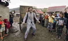 'Very nice!': Kazakhstan adopts Borat's catchphrase in new tourism campaign | World news | The Guardian Sacha Baron Cohen, Rocky Horror, Da Ali G Show, Rudy Giuliani, Live Stream, Teenage Daughters, Amazon Prime Video, Instagram Influencer, Movies