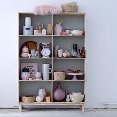 Die Küchenwaage in rosa von Bloomingville im Vintage-Look hat es uns angetan!