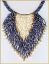 Feather Twist Necklace by Rita Sova