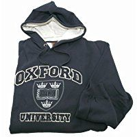 Oxford University Unisex Hooded Sweatshirt Top (4 Colour)