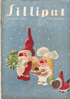 Lilliput, January 1944] (1/-, 104pp, digest, cover by Walter Trier)