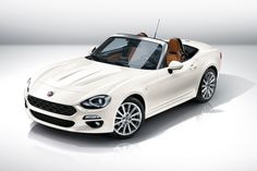 Fiat 124 Spider revealed at 2015 LA show: Fiat's MX-5 turbo is here