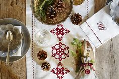 Nice table setting! Inspiration!