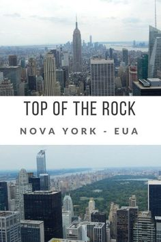 Apreciando Nova York do alto, no Top of the Rock! - Juny Pelo Mundo  Dica de viagem,  travel, nova york, new york, central park, estados unidos, empire state, landscape, paisagem, on the top, predio, urbano