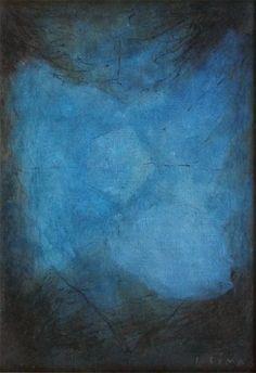 "JeanPhilippedeTonnac on Twitter: ""L'espace bleu, 1968, Josef Šíma https://t.co/zRhv2Hclre"""