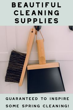 pretty cleaning supplies
