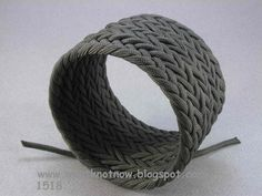 tutorial 1518 wide cuff turks head paracord  bracelet | The para cord is from u-braid-it Braiding supply Co . Very nice people ...