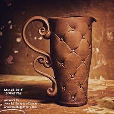 Creating more coffee pots. :) #instaart #teacups #instalike #instadaily…