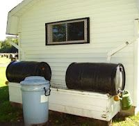 VERY good info on rain barrels. Several examples and some crafty ones too