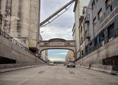 Moinho Fluminense. Na saída do Túnel 450, Centro da Cidade, Rio de Janeiro, Brasil.
