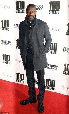 'He is sexy:' The 28-year-old model complimented the 44-year-old actor's confidence and ability to take charge as James Bond; here he is in November 2016