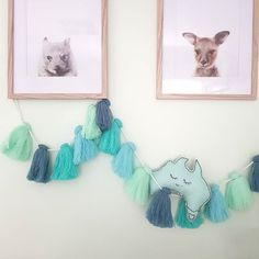 Mint Aussie Themed Nursery Decor Hellolittlelife Handmade Felt Australia
