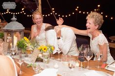 Hilarious wedding photo of the groom being embarrassed by the best man's speech during the reception at his Stowe, VT wedding.  Love funny photos like this... documentary photography at it's best.  :)  #weddingspeechphoto #funnyweddingspeech #candidspeech #weddingreceptionphoto