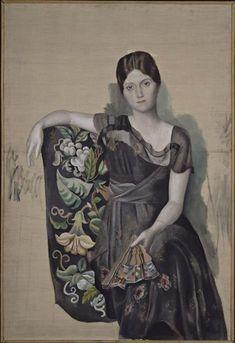 Pablo Picasso, Portrait d'Olga dans un fauteuil