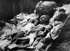 Hungary, Bodies of Jewish children, victims of the Arrow Cross Party.