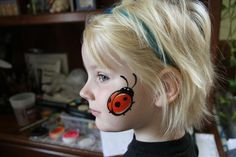 quick cheek art face painting - Google Search