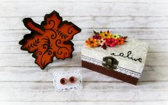 Paper Quilling Handmade Autumn Flowers by CadouriFistichii Autumn Flowers, Paper Quilling, Jewelry Box, Decoupage, Crafts, Handmade, Diy, Fall Flowers, Jewellery Box