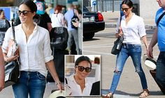 Meghan Markle is spotted for the first time since Pippa's wedding