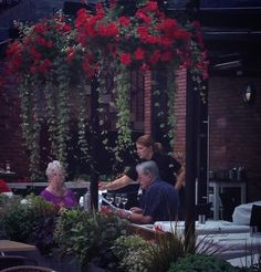 Lunch on our outside terrace?