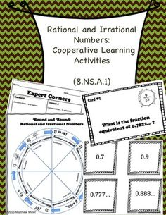 irrational numbers and real world problems worksheet 8 ns 2 teach pinterest irrational. Black Bedroom Furniture Sets. Home Design Ideas