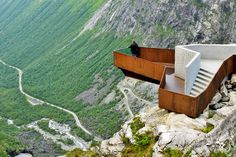 Visitors' Centre on the Trollstigen Plateau: 500,000 Sq. Feet of Gorgeous Pathways Overlooking Norway