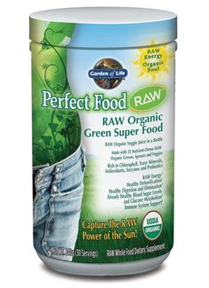 Garden of Life Perfect Food® RAW---an essential part of every day