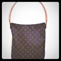LOUIS VUITTON SHOULDER BAG. 100% AUTHENTIC LOUIS VUITTON, BROWN LEATHER BAG..THIS BAG IS VERY NICE AND GREATLY CONSTRUCTED. THE INSIDE LINING HAS A FEW MINOR  SIGNS OF WEAR. BUT THE OUTSIDE OF THE BAG, AND STRAPS ARE IN BEAUTIFUL CONDITION. NO SCRATCHES OR TEARS,RIPS,ODORS,ETC. ITS A MEDIUM SIZE, HOBO STYLE MODEL. THANKS FOR LOOKING. SERIOUS OFFERS ONLY!!!!!!!! Louis Vuitton Bags Shoulder Bags