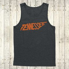 Tennessee Stately Tank by The Stately Shirt by TheStatelyShirtCo