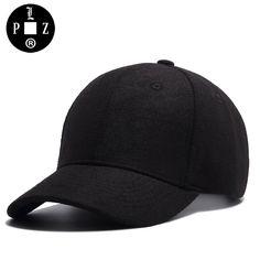 30d3cf4a43955 PLZ Black Grey Imitation Wool Sun Hats Men Women Suede Baseball Cap Korean  Style Superstar Caps