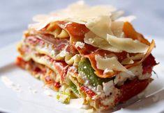 Lasagnes aux trois poivronsVoir la recette desLasagnes aux trois poivrons >>