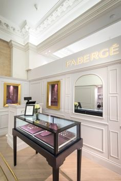Fabergé Pop-up | Egg Bar at Harrods, by Millington Assocaites