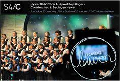 Broadcast on S4C...  Hywel Girls' Choir & Hywel Boy Singers founded by John Hywel Williams MBE... Say hello at info@hywelchoir.com
