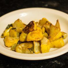 My favorite way to eat pattypans! apryl. Oven Roasted Patty Pan Squash