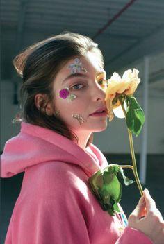 Pannaz — bakcheus: Lorde for Fashion Magazine what a...