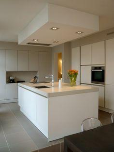 White handleless kitchens - TRUE handleless kitchens.co.uk