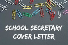 A school secretary cover letter should highlight the relevant skills and strengths you bring to the job opportunity. Easy-to-adapt school secretary resume cover letter example. Resume Cover Letter Examples, Resume Cover Letter Template, Cover Letter Tips, Cover Letters, Teacher Interviews, Job Interviews, Best Interview Answers, Administrative Assistant Cover Letter, Verbal Communication Skills
