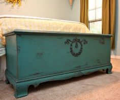 Beautiful repurposed cedar chest!