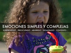 Material para trabajar emociones simples y/ complejas . PDF para descargar